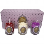 Hana Scented Votive Candle Set