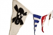 Jolly Roger Fairtrade Pirate Felt Bunting by Felt So Good