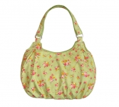 Juliet FairTrade Cotton Flower Bag Apple Green by Earth Squared