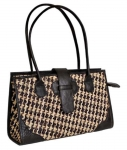 Leilana Raffia & Leather Handbag
