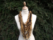 Louisa Crocheted Necklace Scarf