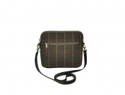 Lucy Fairtrade Tweed Handbag by Earth Squared Green