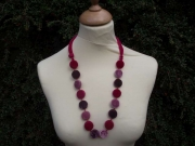 Macaroon Velvet Fair Trade Necklace
