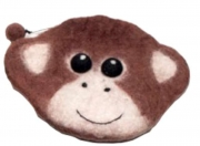 Monkey Fairtrade Felt Purse by Felt So Good