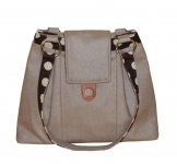 Ava Felt Handbag Light Brown