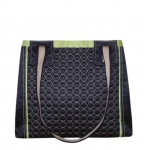Charlie Quilted Handbag Navy Blue