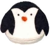 Penguin Fairtrade Felt Purse by Felt So Good