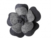 Poppy Fair trade Felt Flower Brooch