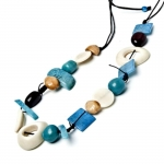 Popurri Tagua Fair Trade Necklace