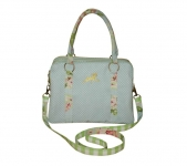Alice Floral Handbag Powder Blue