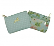 Alice Floral Purse Powder Blue