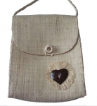 Dora Straw fairtrade Shoulder Bag Natural