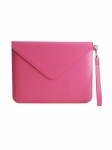 Recycled Leather Tablet Folio IPad Case Pink