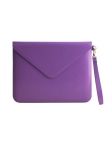 Recycled Leather Tablet Folio IPad Case Purple