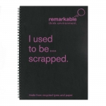 Recycled Tyre A5 Notepads