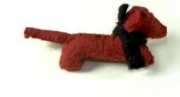 Charlie Sausage Dog Felt Brooch