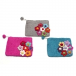 Secret Garden Fairtrade Felt Purse by Felt So Good