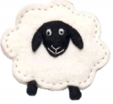 Sheep Fairtrade Felt Purse by Felt So Good