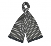 Spotty Fairtrade Jersey Scarves by Earth Squared Grey