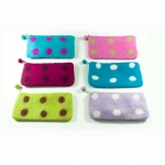 Spotty Felt Pencil Case
