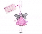 Hanging Thankyou fairy fair trade toy