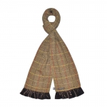 Tweed Fairtrade Jersey Scarves by Earth Squared Brown