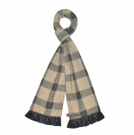Tweed Fairtrade Jersey Scarves by Earth Squared Cream