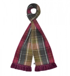 Tweed Fairtrade Jersey Scarves by Earth Squared Plum