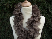 Velma Ruffle Silk Scarf