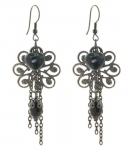 Victoriana Charm Cluster Earrings