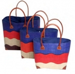 Wanda Straw  Fairtrade Beach or Shopping Bag