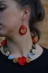 Limbaret Fair Trade  Tagua Earrings