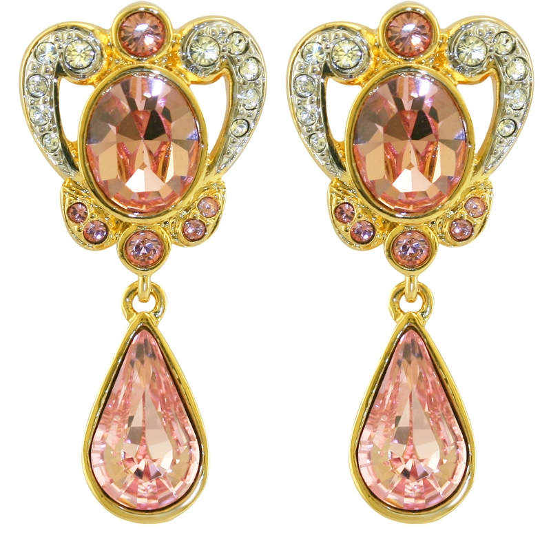 princess margaret ornate earrings crowns regalia