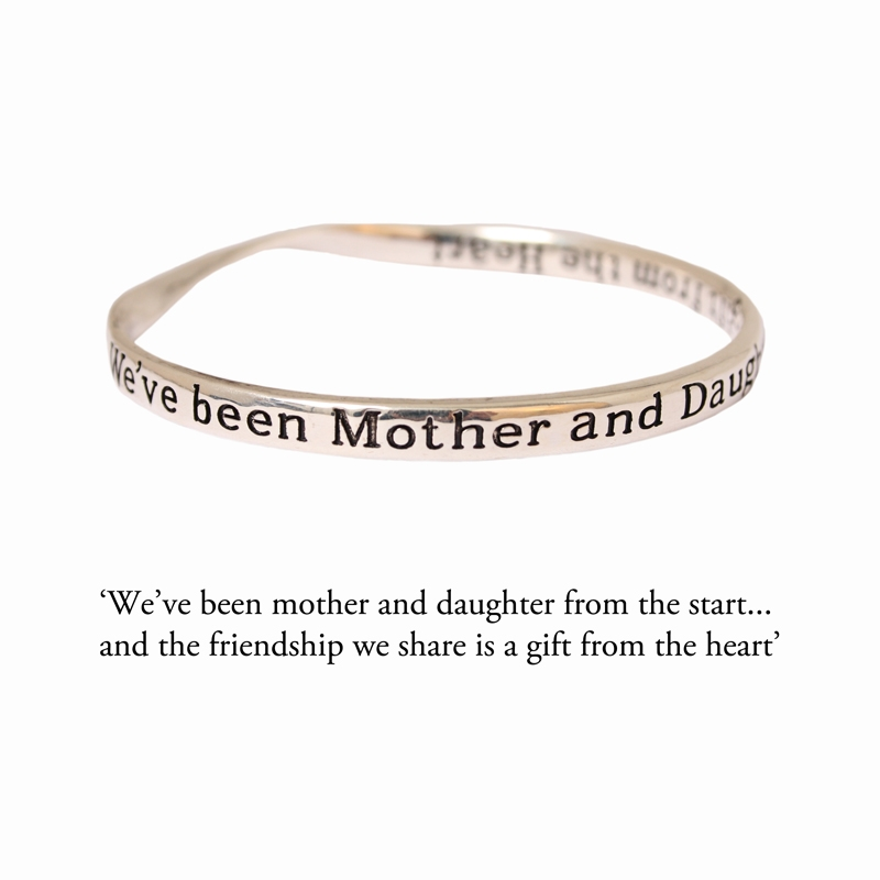 Mother Sentiment Bracelet Mother Daughter Sentiment